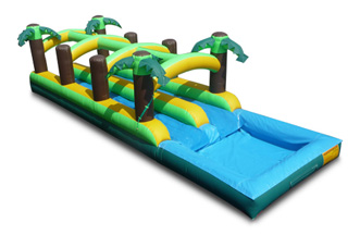 Cypress waterslide delivery | Cypress Bounce House | Cypress